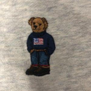 Men's polo Ralph Lauren Teddy Bear Hoodie RL13
